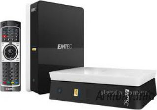 Movie Cube-er Emtec Q100, R100 (Pult, TV-out, TV-in, Wi-Fi, LAN,