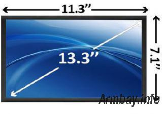 13.3 LCD display for notebook